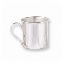 Quality Gold Sterling Silver Baby Cup - GP442