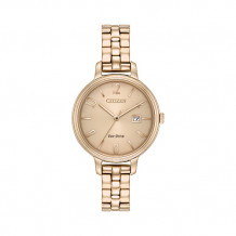 Citizen Chandler Ladies Rose Stainless Steel Watch