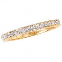 Romance 18k Yellow Gold Diamond Wedding Band