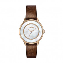Citizen L Circle of Time Ladies Rose Stainless Steel Watch