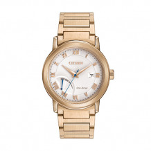 Citizen Eco-Drive Power Reserve Men's Rose Stainless Steel Watch