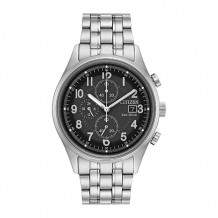 Citizen Chandler Men's White Stainless Steel Watch