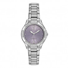 Citizen Ladies' Diamond White Stainless Steel Women's Watch