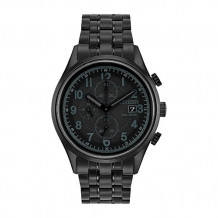 Citizen Chandler Men's Black Stainless Steel Watch