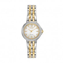 Citizen Ladies' Diamond Two-Tone Stainless Steel Women's Watch