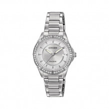 Citizen POV Ladies White Stainless Steel Watch