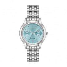 Citizen Chandler Ladies White Stainless Steel Watch