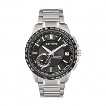 Citizen Satellite Wave - World Time GPS Men's White Stainless Steel Watch