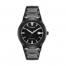 Citizen Paradigm Men's Black Stainless Steel Watch