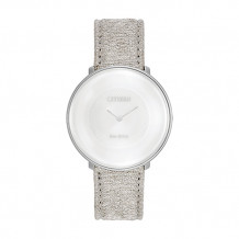 Citizen Limited Edition Citizen L Ambiluna Ladies White Stainless Steel Watch