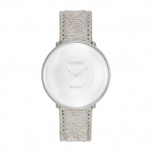 Limited Edition Citizen L Ambiluna White Stainless Steel Women's Watch
