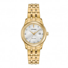 Citizen Ladies' Diamond Yellow Stainless Steel Women's Watch