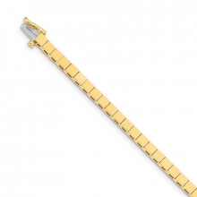 Quality Gold 14k Yellow Gold Add-a-Diamond Tennis Bracelet - X846
