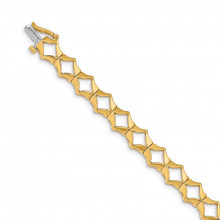 Quality Gold 14k Yellow Gold Add-a-Diamond Tennis Bracelet - X864